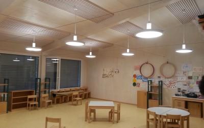 Hängeleuchten umgebaut mit LED